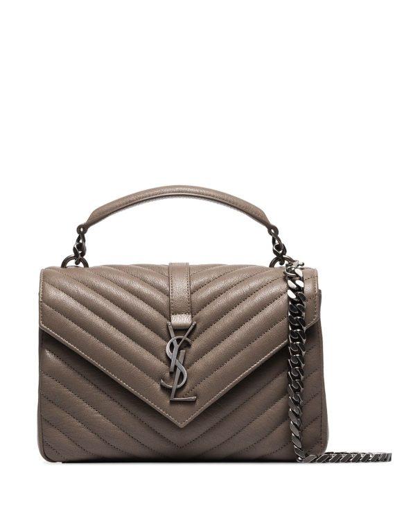 Saint Laurent medium College shoulder bag - Neutrals - Saint Laurent