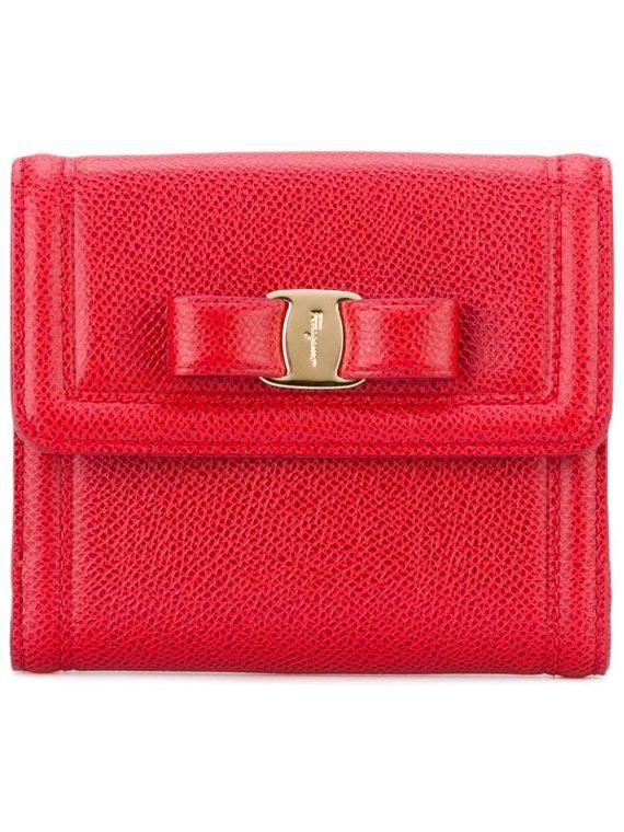Salvatore Ferragamo Gancio French continental wallet - Red - Salvatore Ferragamo