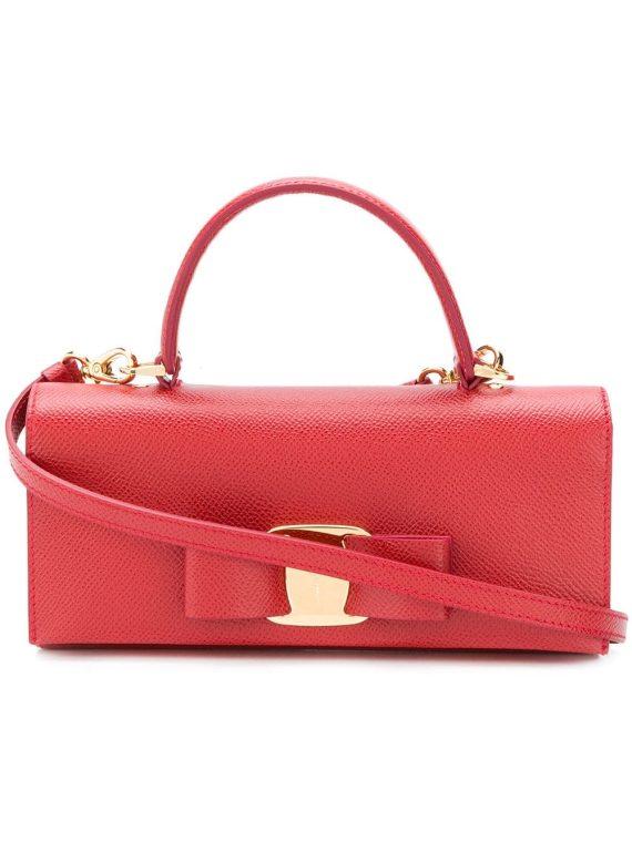 Salvatore Ferragamo Vara bow mini bag - Red - Salvatore Ferragamo
