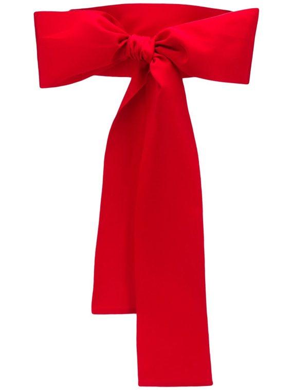 Sara Roka large waist belt - Red - Sara Roka