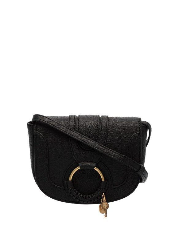 See by Chloé Hana ring detail shoulder bag - Black - See by Chloé