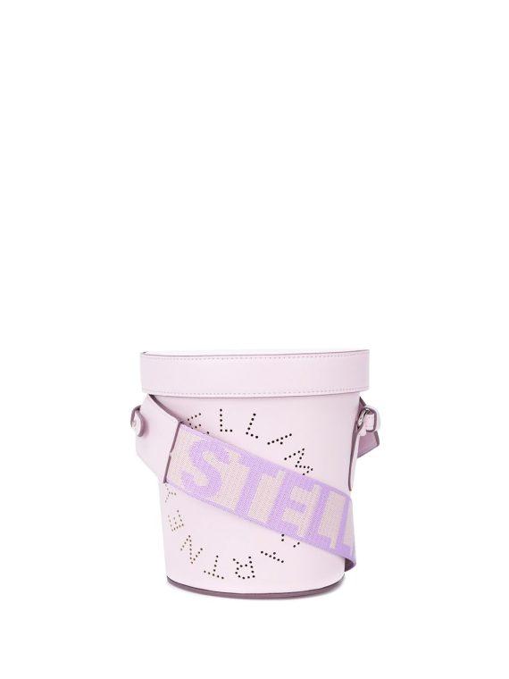 Stella McCartney Stella Logo bucket bag - PURPLE - Stella McCartney