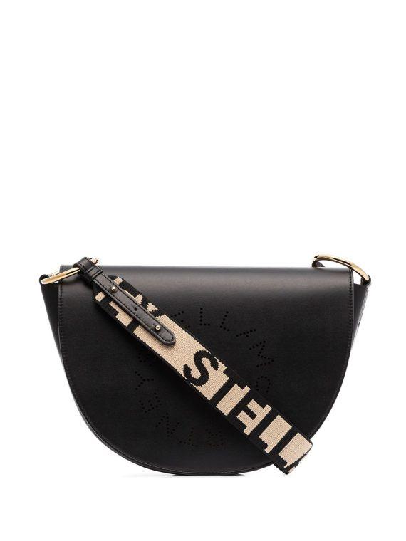 Stella McCartney Stella Logo crossbody bag - Black - Stella McCartney