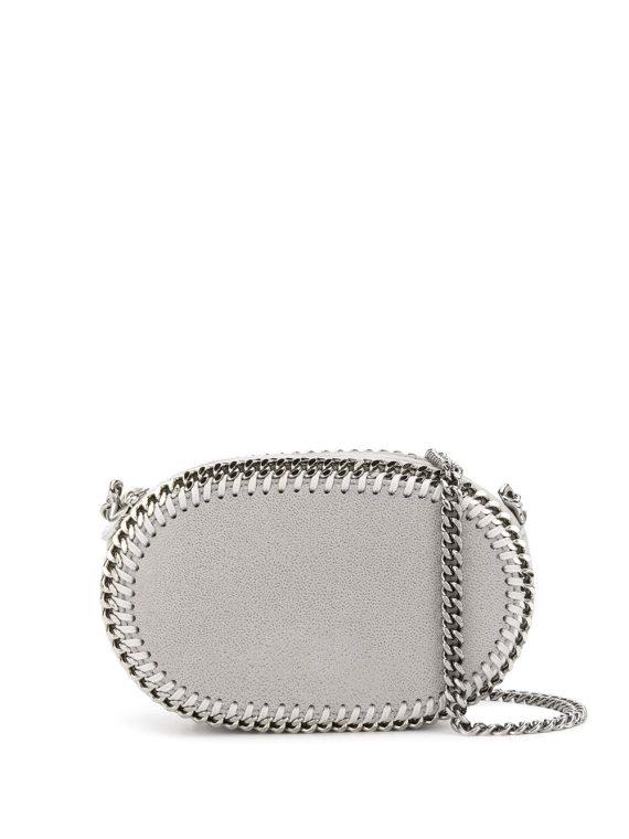 Stella McCartney oval Falabella crossbody bag - Grey - Stella McCartney