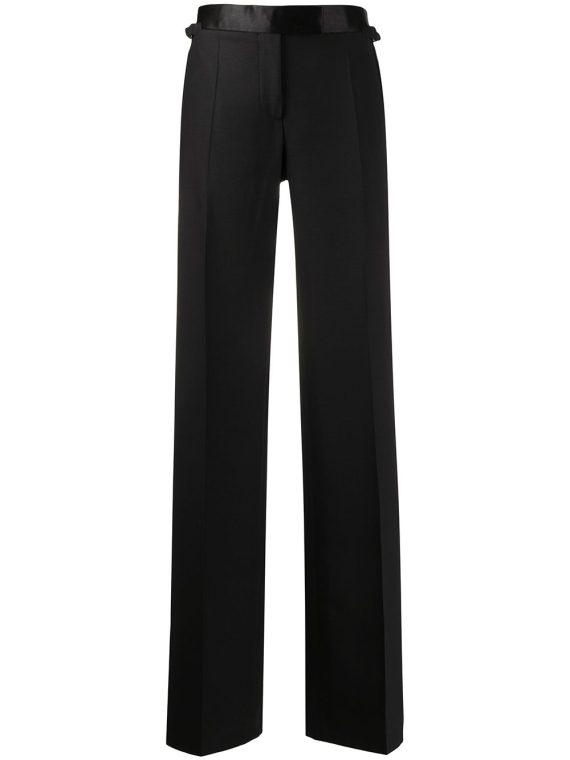 Tom Ford tuxedo band flared trousers - Black - Tom Ford