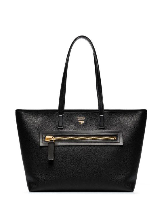 Tom Ford zip tote bag - Black - Tom Ford