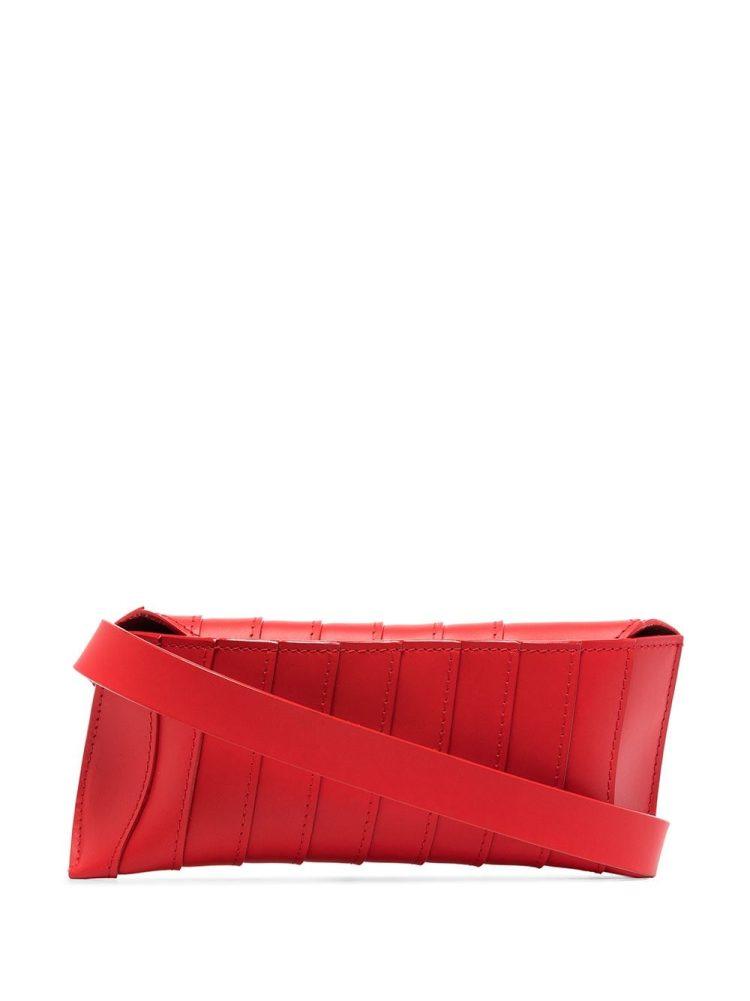 VENCZEL V8S Stripe belt bag - Red - VENCZEL