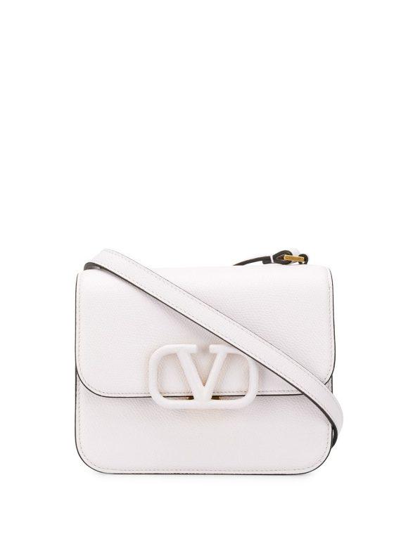 Valentino Garavani VSLING crossbody bag - White - Valentino Garavani