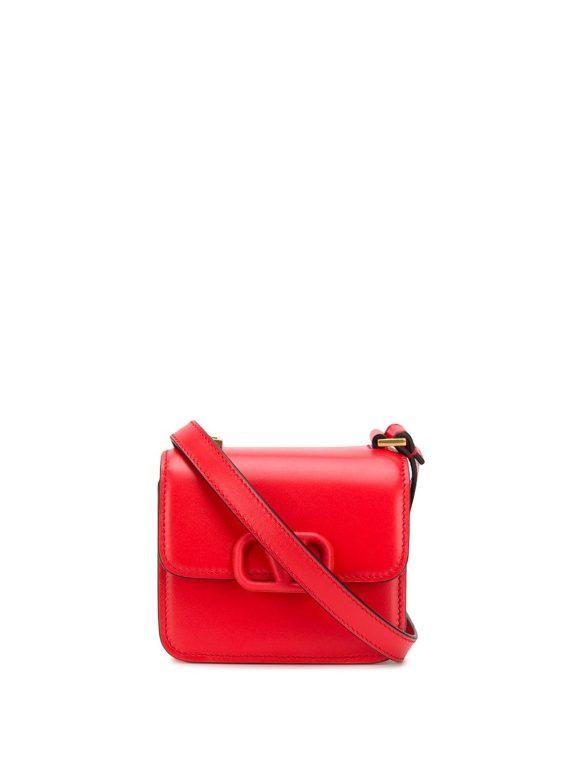 Valentino Garavani micro VSLING shoulder bag - Red - Valentino Garavani