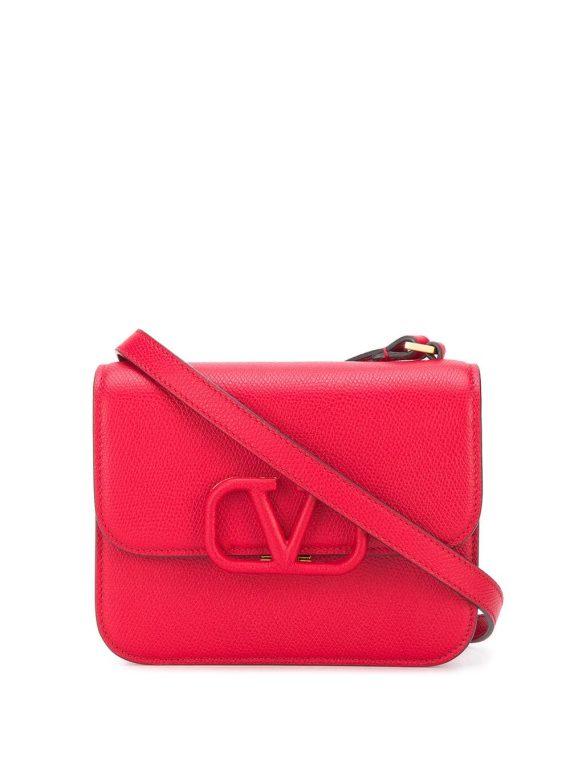 Valentino Garavani small VSLING crossbody bag - Red - Valentino Garavani