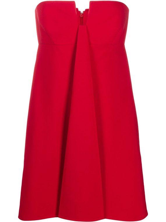 Valentino strapless mini dress - Red - Valentino