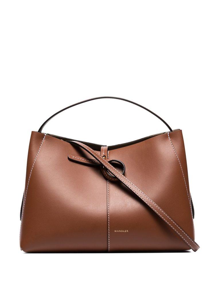 Wandler mini Ava shoulder bag - Brown - Wandler