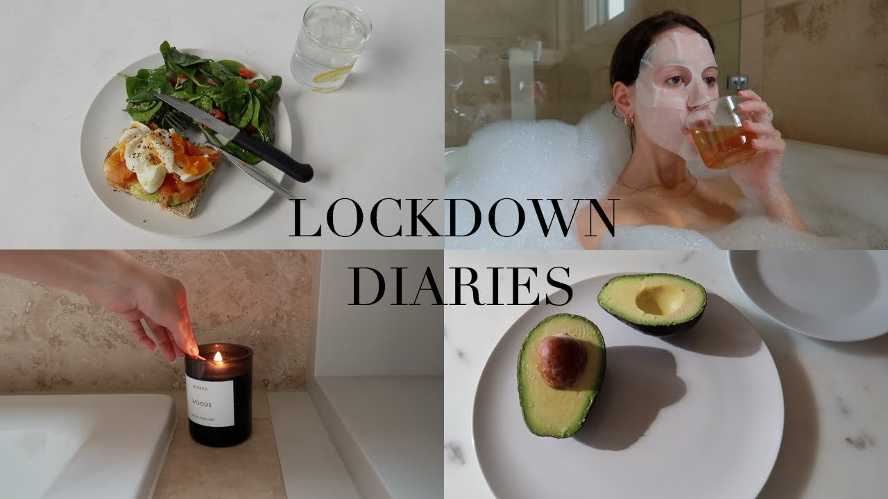 Lockdown Diaries   Self Care Day and Current Night Time Skincare Routine