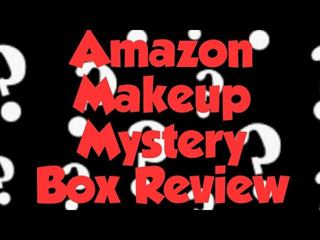 Amazon Makeup Mystery Box Review