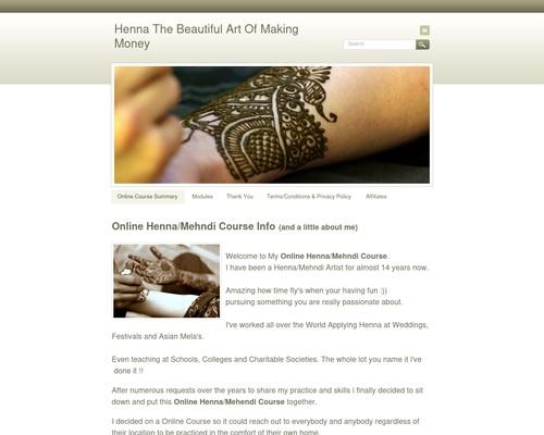 Henna – The Beautiful Art Of Making Money